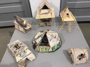 Студенты Смоленского  института искусств посетили открытие этнохудожественной выставки