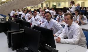 Поздравление команды студентов педиатрического факультета участников Олимпиады Виртуоз педиатрии в г. Москва